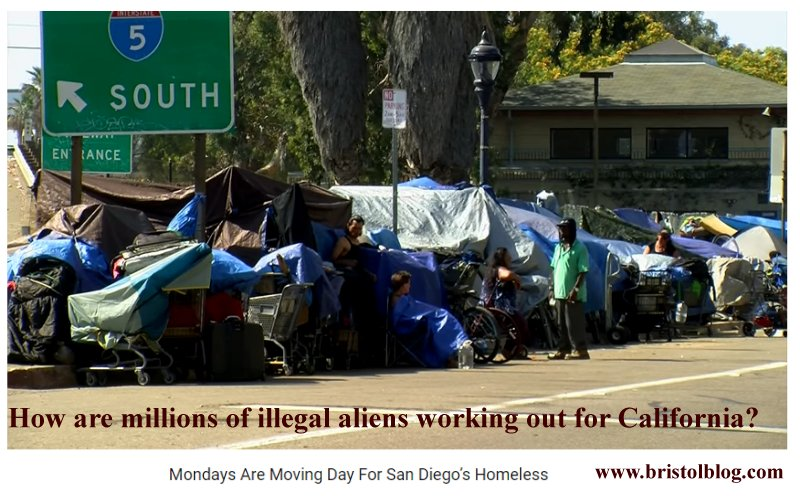 Filth and Homelessness in San Diego.